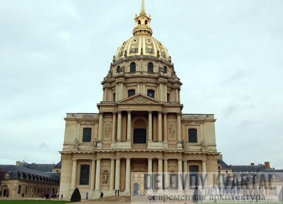 Купол парижской церкви Дома инвалидов