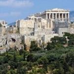 Парфенон и Акрополь (Афины, Греция)