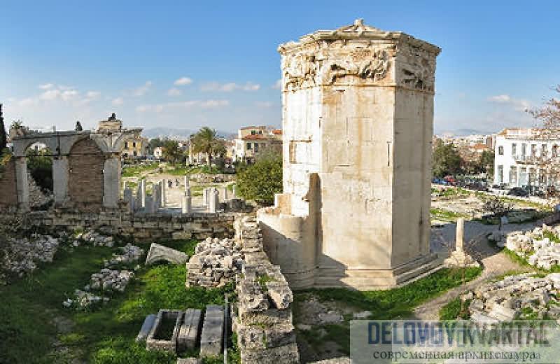 Башня Ветров. Афины
