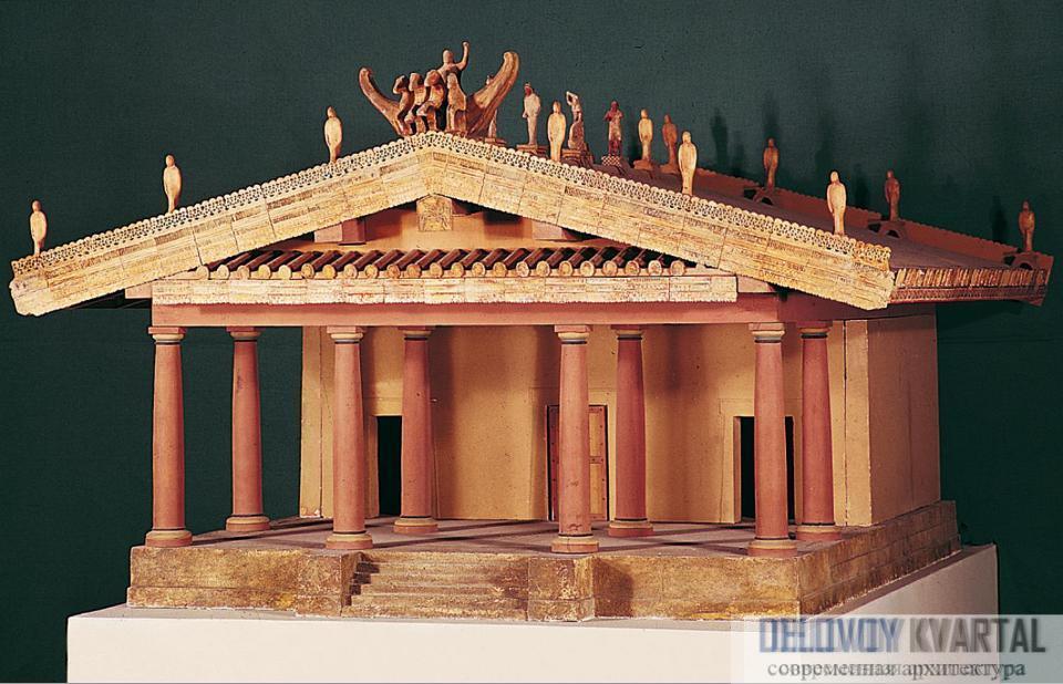 Трехцелловый храм