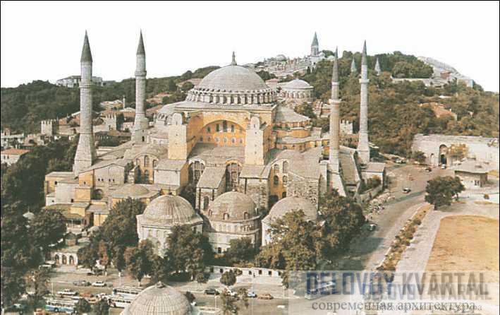Святая София. Константинополь