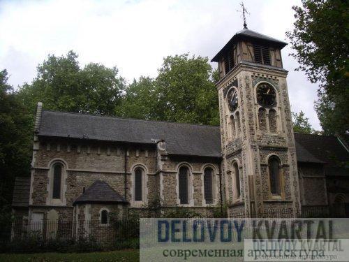 Церковь Сент-Пэнкрас. Лондон