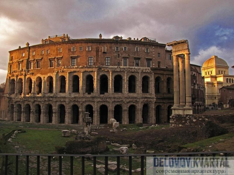 Театр Марцелла. Рим