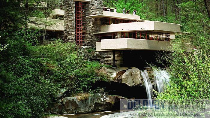 Дом над водопадом Райта