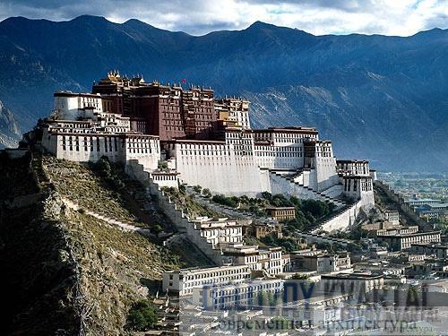Дворец Потала (Лхаса, тибет)