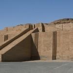 Большой зиккурат в городе Ур, Ирак