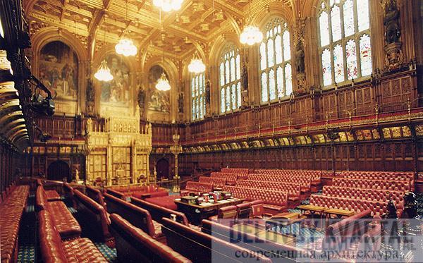 Палата лордов вестминстерский дворец