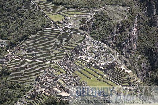 Вид на Мачу-Пикчу с горы Хуана-Пикчу