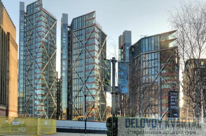 Жилой комплекс «НЕО Бэнксайд» (NEO Bankside) в Лондоне