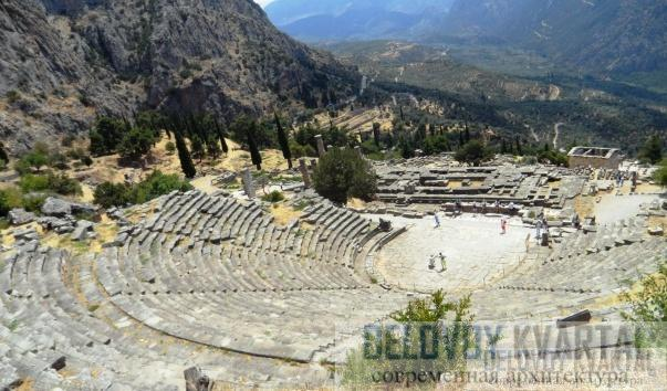 Развалины театра Аполлона
