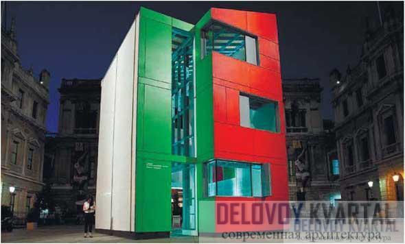 Энергоэффективный жилой «Дом-ракушка». Лондон, Великобритания