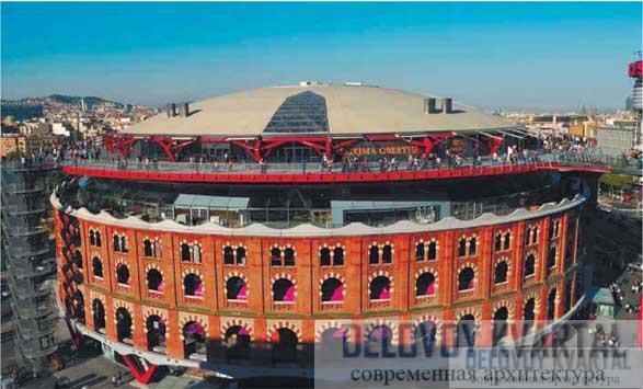 Реконструкция арены. Барселона, Испания