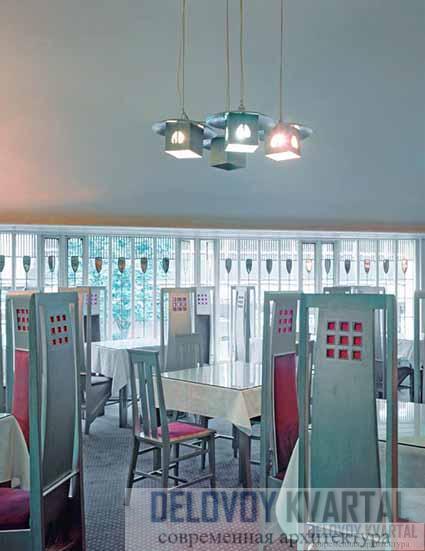 Ивовые чайные комнаты. Главный зал Рум де Люкс. Фрагмент настроения