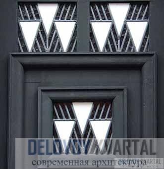 Дизайн входной двери. Фрагмент