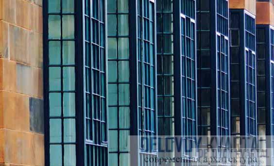 Окна западного фасада Макет. Северный и западный фасады