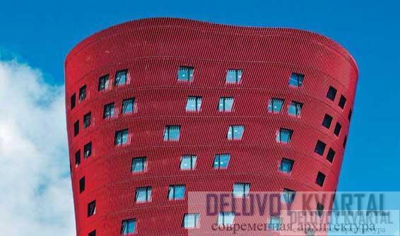 Завершение башни отеля