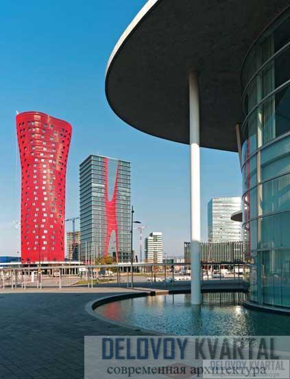 Башня отеля и офисная башня комплекса «Порта Фира»