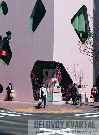 Магазин Микимото, Токио (арх. Тойо Ито)