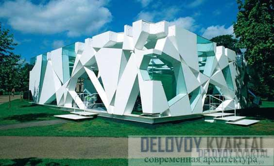 Павильон для галереи Серпентайн. Лондон, Великобритания