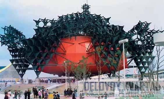 Павильон «Тошиба IHI» на Экспо-70. Осака, Япония