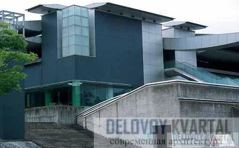 Фрагмент Музея современного искусства
