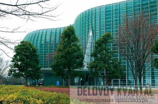 Национальный центр искусств в Токио (арх. Курокава)