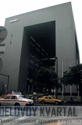 Главный офис банка Фукуоки. Япония