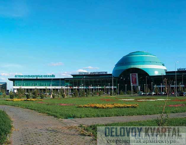 Международный аэропорт Астаны (арх. К. Курокава)