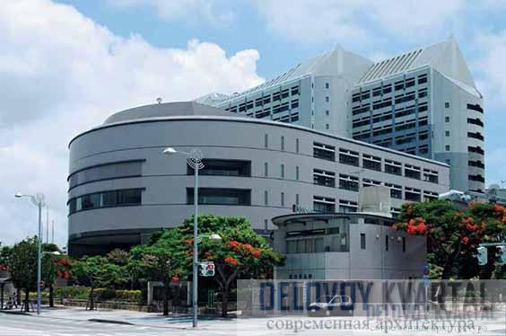 Здание администрации префектуры Окинава. Япония