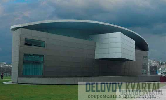 Новый корпус музея Ван Гога. Амстердам, Нидерланды