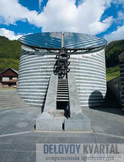 Капелла Cвятого Иоанна Крестителя (Сан-Джованни) в Моньо. Швейцария