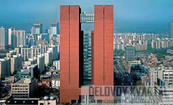 Башня Кебо Тауэр в Сеуле. Южная Корея