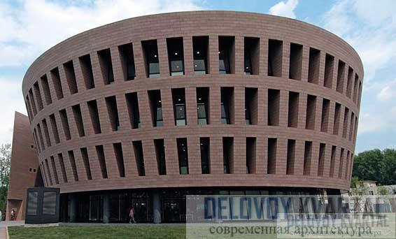 Новая библиотека Университета Циньхуа в Пекине. КНР