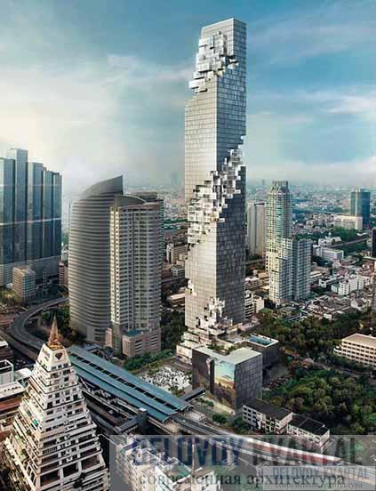 Небоскреб Маханакхон. Проект. Бангкок, Таиланд