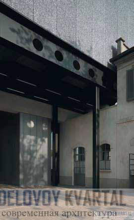 Сочетание новых конструкций и старой архитектуры
