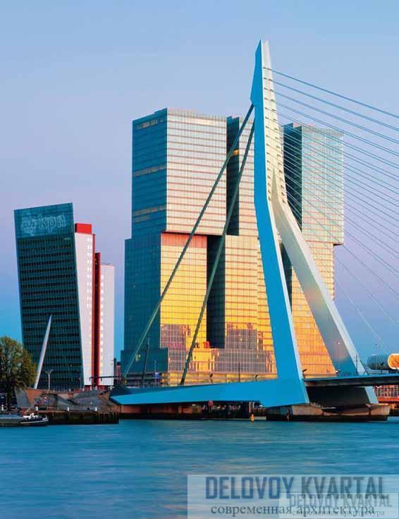 Комплекс «De Rotterdam». Роммердам, Нидерланды
