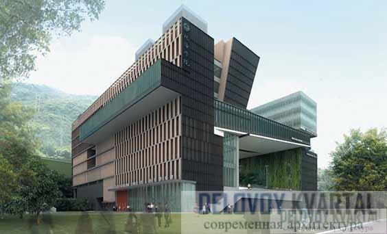 Кампус Колледжа высшего образования Чу Хай. Гонконг, Китай