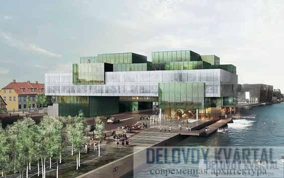 Многофункциональный досуговый центр BLOX. Проект. Копенгаген, Дания