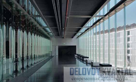 Гофрированное стекло в оформлении интерьера