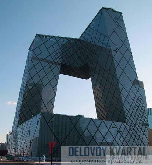 Штаб-квартира Центрального телевидения Китая