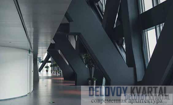 Интерьер одной из башен CCTV