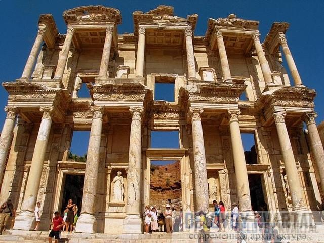 Библиотека в Эфесе (Эфес, Турция)