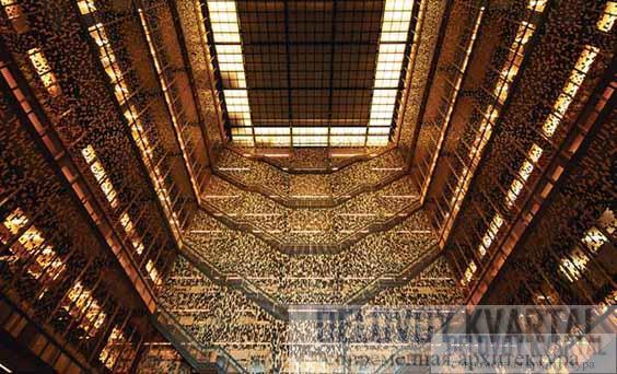 Библиотека Элмера Холмса Бобста, Нью-Йорк, США