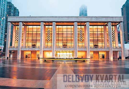 Театр Дэвида Коха (арх. Филипп Джонсон)