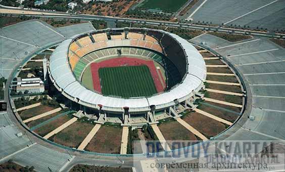 Стадион Святого Николая. Бари, Италия