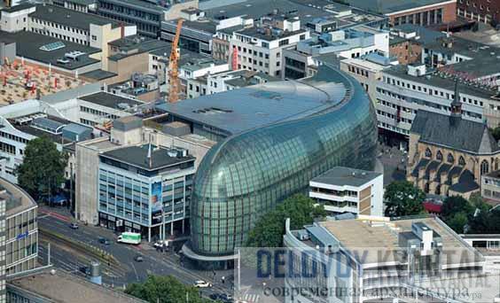 Торгово-развлекательный комплекс «Вельтштадтхаус». Кёльн, Германия