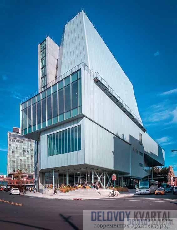 Музей американского искусства Уитни. Нью-Йорк, США