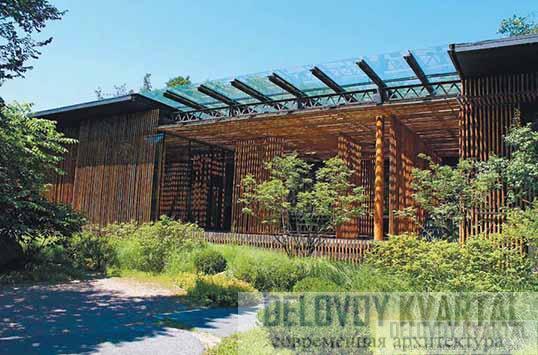 Вилла «Великая бамбуковая стена» (арх. Кэнго Кума)