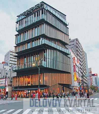 Туристско-информационный центр в районе Асакуса, Токио