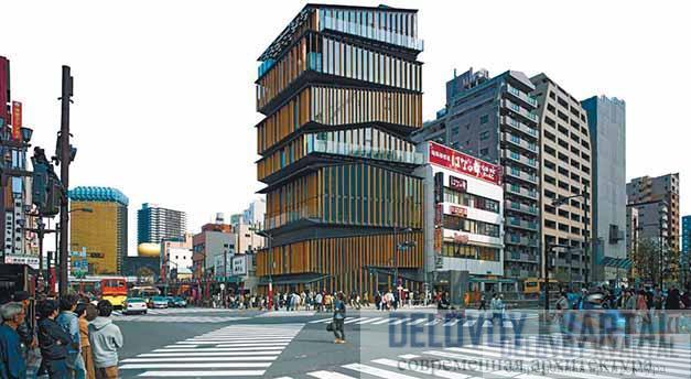 Туристско-информационный центр в районе Асакуса